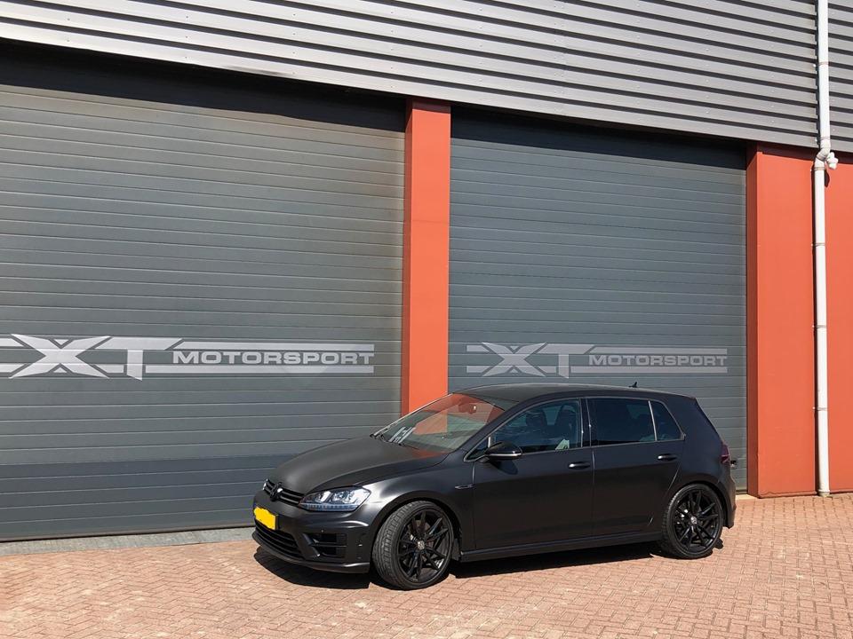 VW GOLF MK 7 R met superpro europe onderstel xtmotorsport