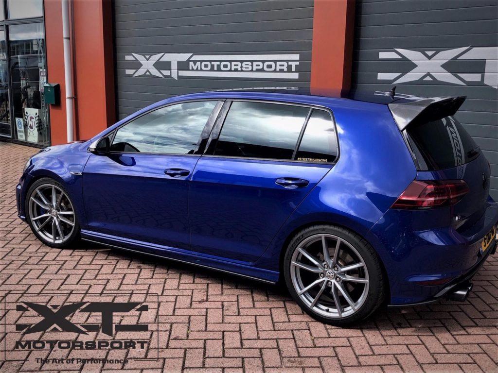 XT Motorsport VW Golf Mk7 R voorzien van een Stage 3 upgrade DCT clutch kit