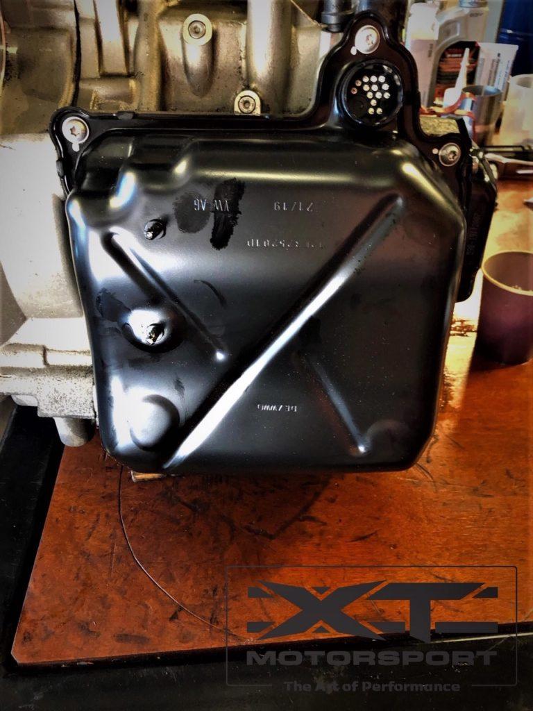 XT Motorsport VW Golf Mk7 R voorzien van een Stage 3 upgrade DCT clutch kit 9